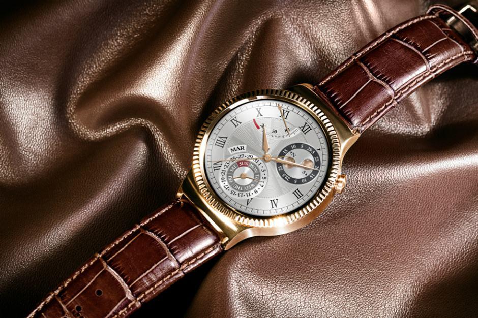 Huawei Watch Rose Gold