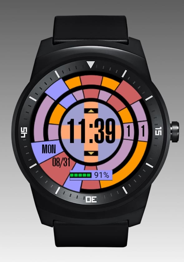 LCARS Android Wear Watch Face