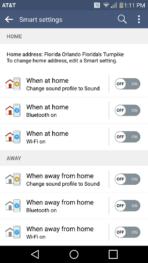LG V10 AH smart settings 1