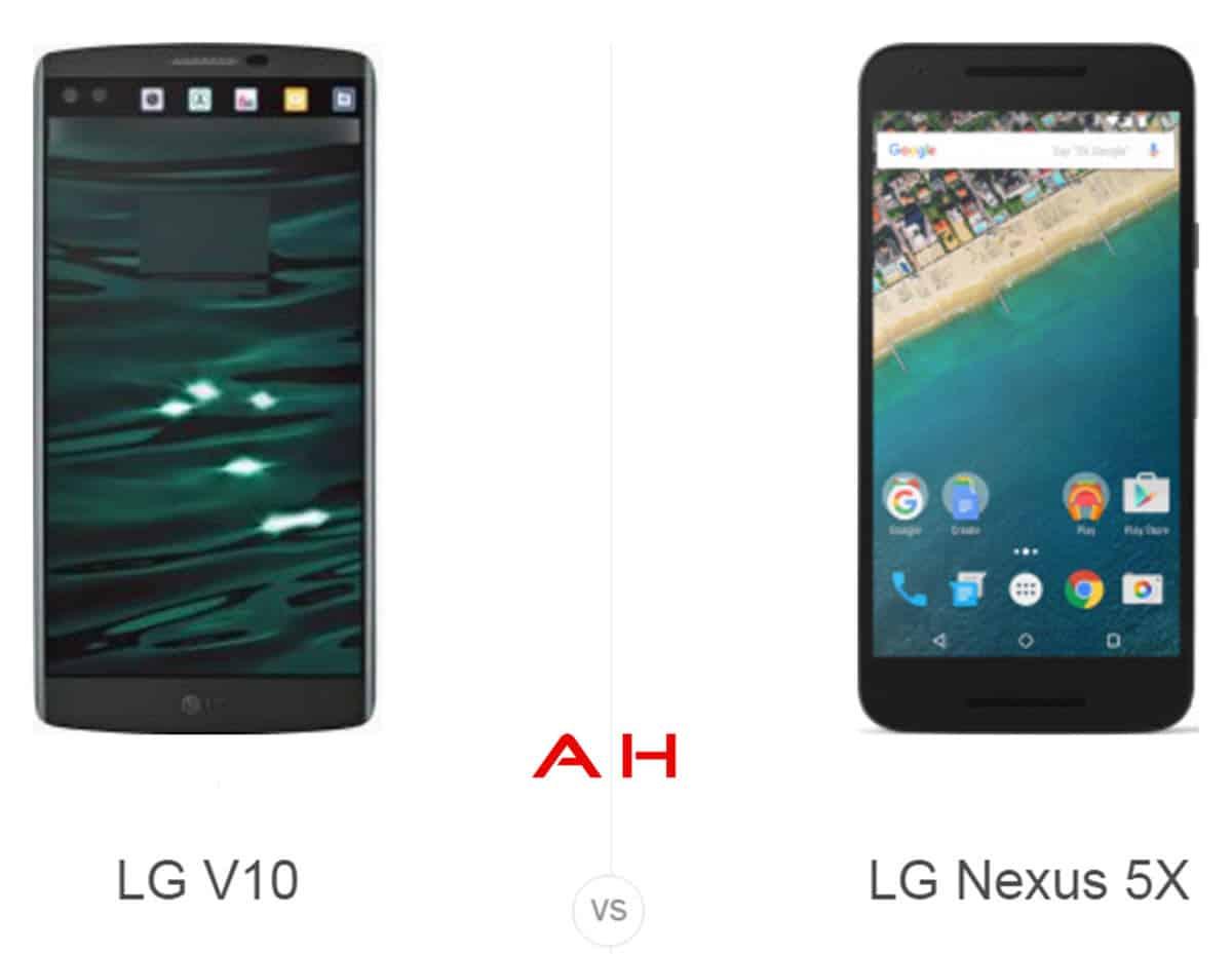 LG V10 vs Nexus 5X cam AH