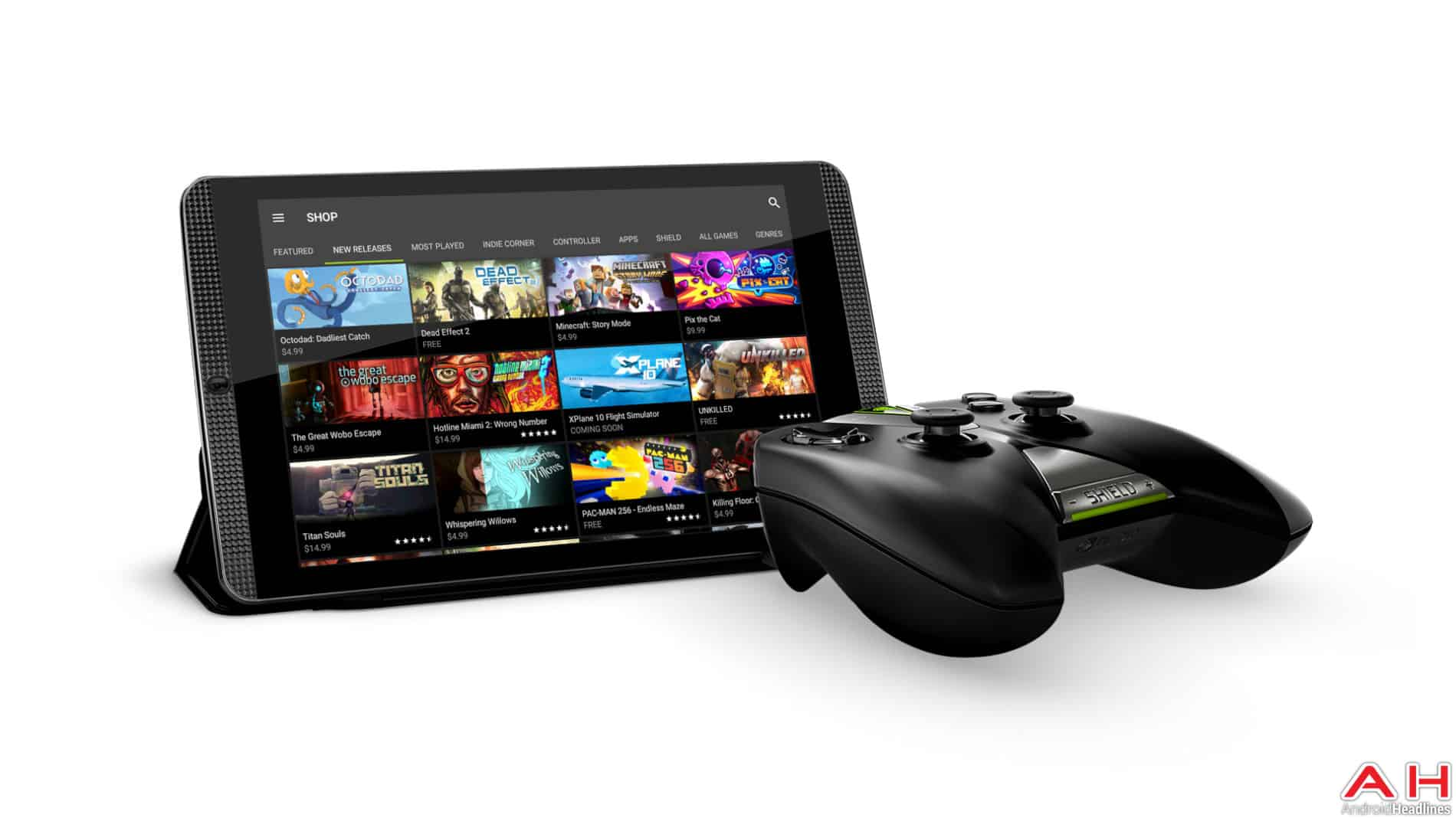 NVIDIA SHIELD Tablet K1 Press AH 1