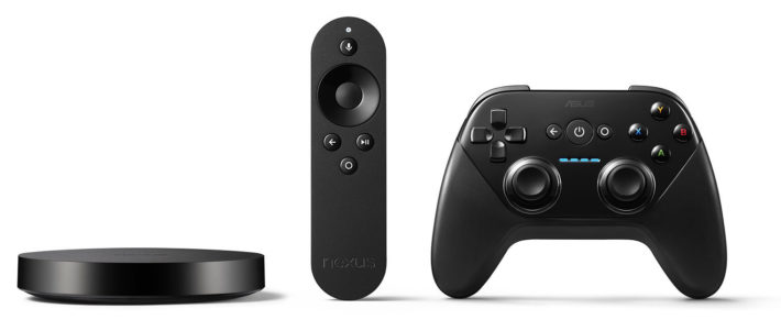 Nexus player press