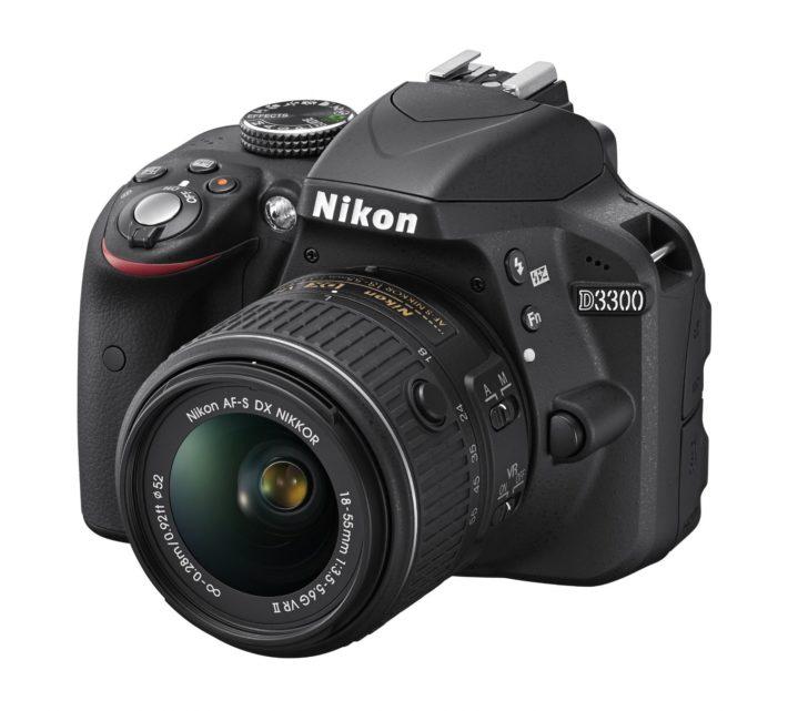 Nikon D3300 24.2 MP CMOS Digital SLR with Auto Focus-S DX NIKKOR 18-55mm