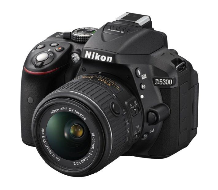 Nikon D5300 24.2 MP CMOS Digital SLR Camera with 18-55mm f:3.5-5.6G ED VR II