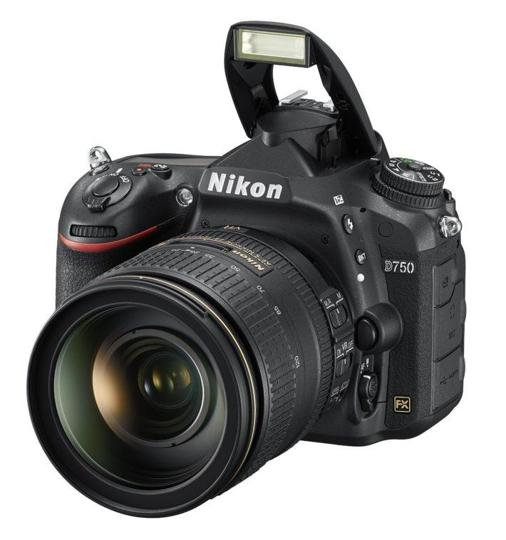 Nikon D750 FX-format Digital SLR Camera w: 24-120mm f:4G ED VR Auto Focus-S NIKKOR Lens