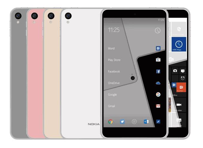 Nokia C1 Android Phone Render Rumor