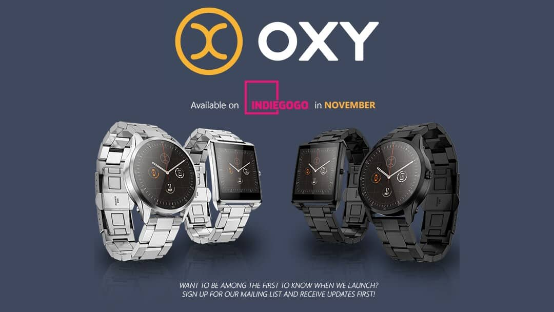 Android-Powered OXY Smartwatch Needs Your Help On ...
