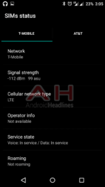 OnePlus X AH Network T Mobile LTE