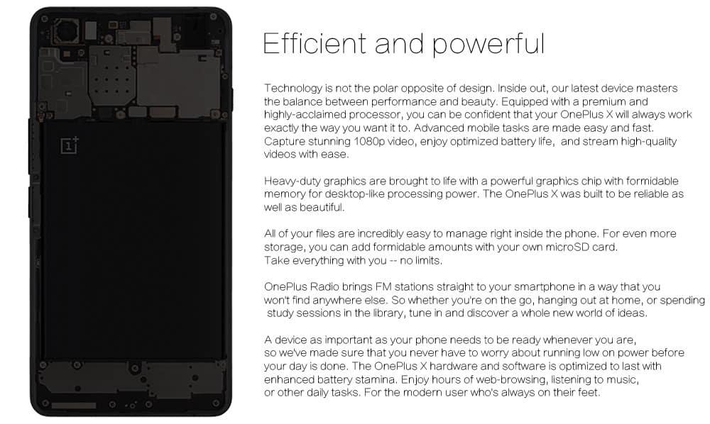 OnePlus X GB 05