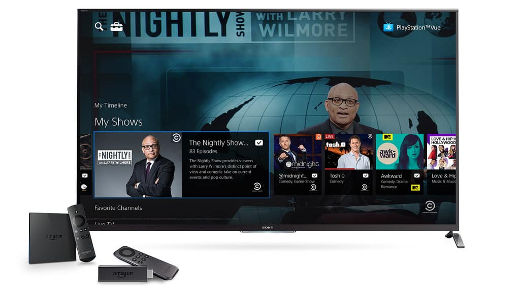 PlayStation Vue Fire Support