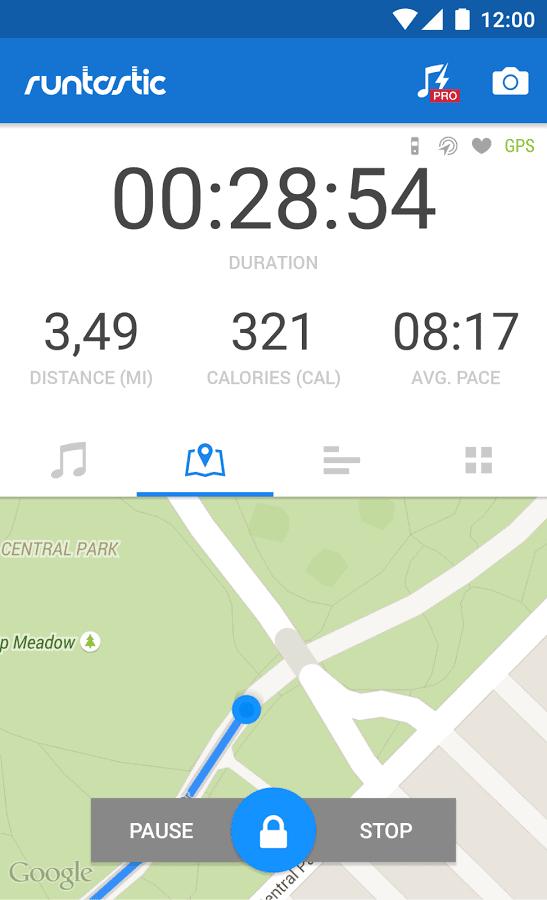 Runtastic Running GPS Tracker