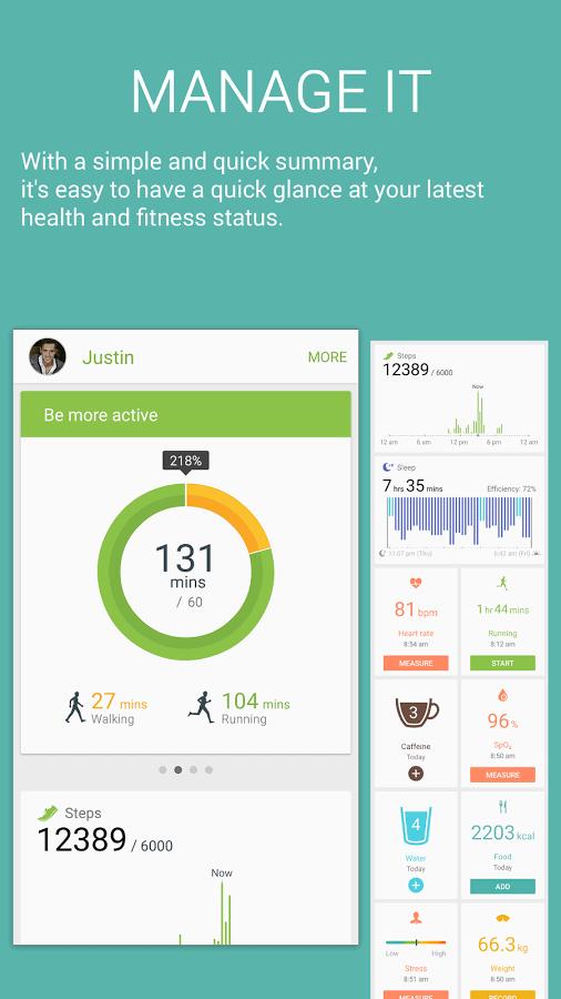 S Health -Fitness Diet Tracker