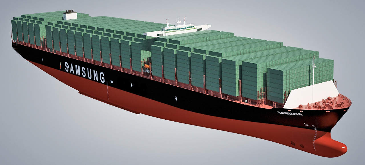 Samsung largest container ship