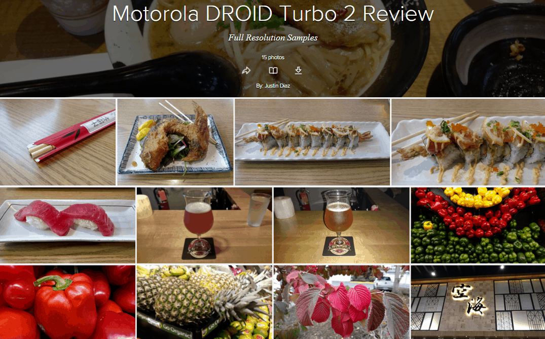 DROID Turbo 2 Review Camera Samples