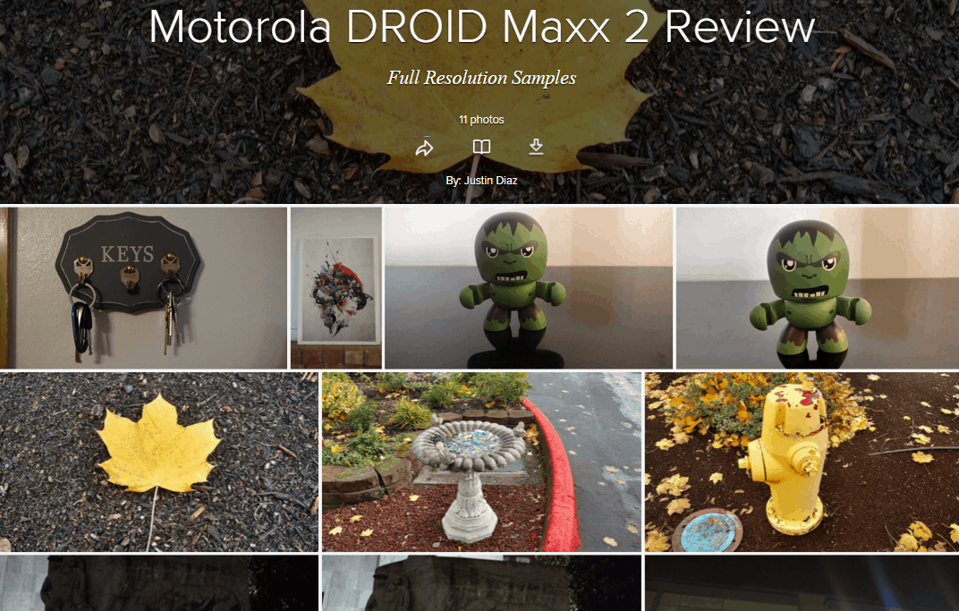 DROID Maxx 2 Camera Samples