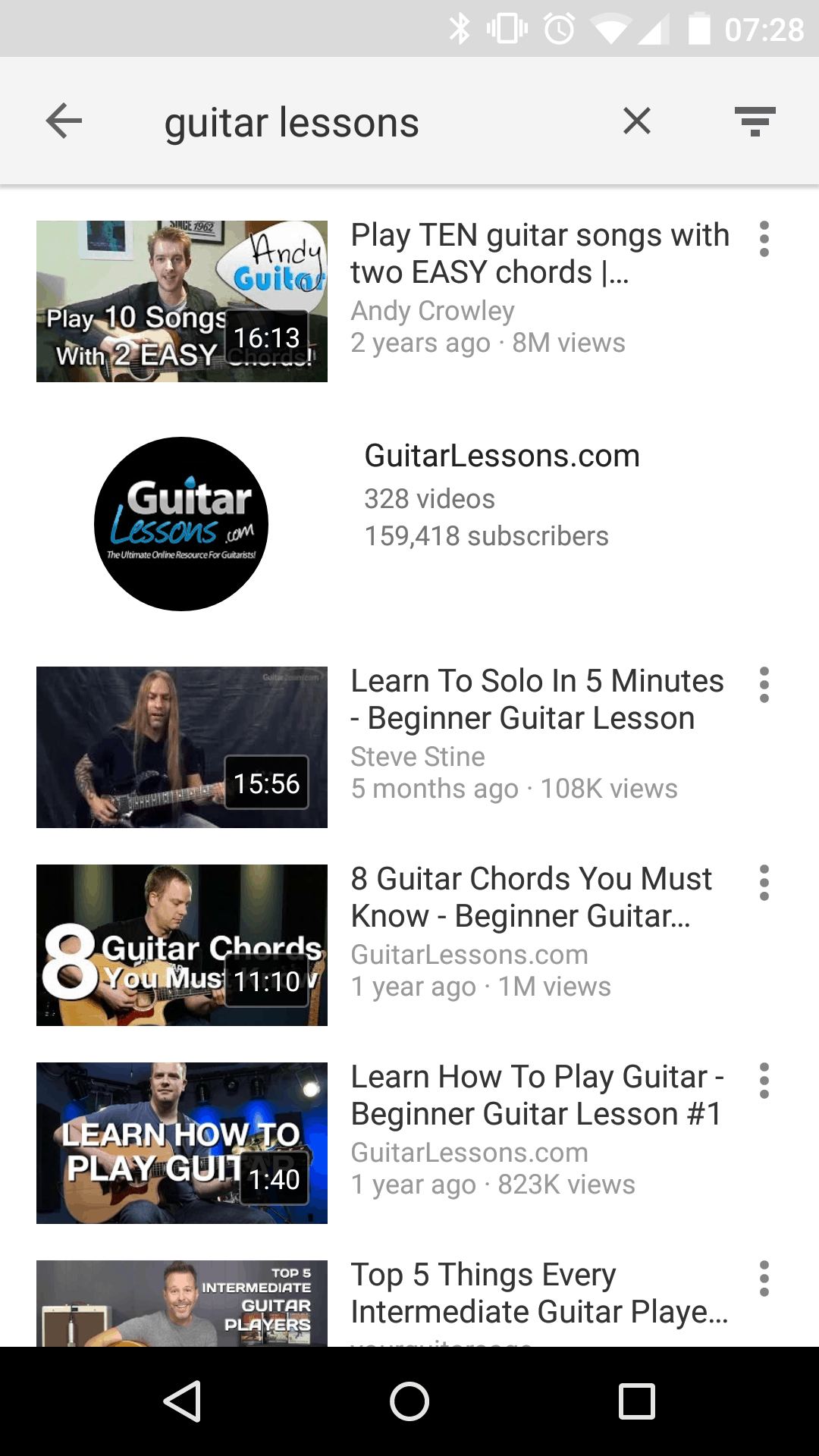 Featured Top 10 Android Apps For Guitarists Android News
