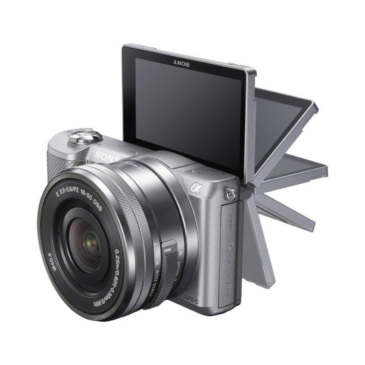 Sony Alpha a5000 Mirrorless Digital Camera with 16-50mm OSS Lens