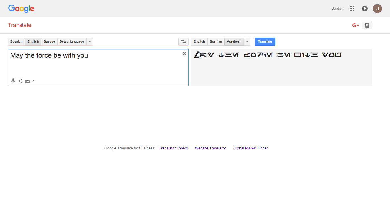 Star-Wars-Google-Translate