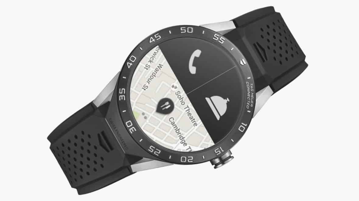 Tag heuer connected is the first swiss android wear watch