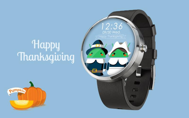 Thanksgiving for Android