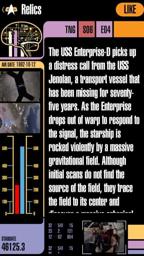 Trek Episode Guide