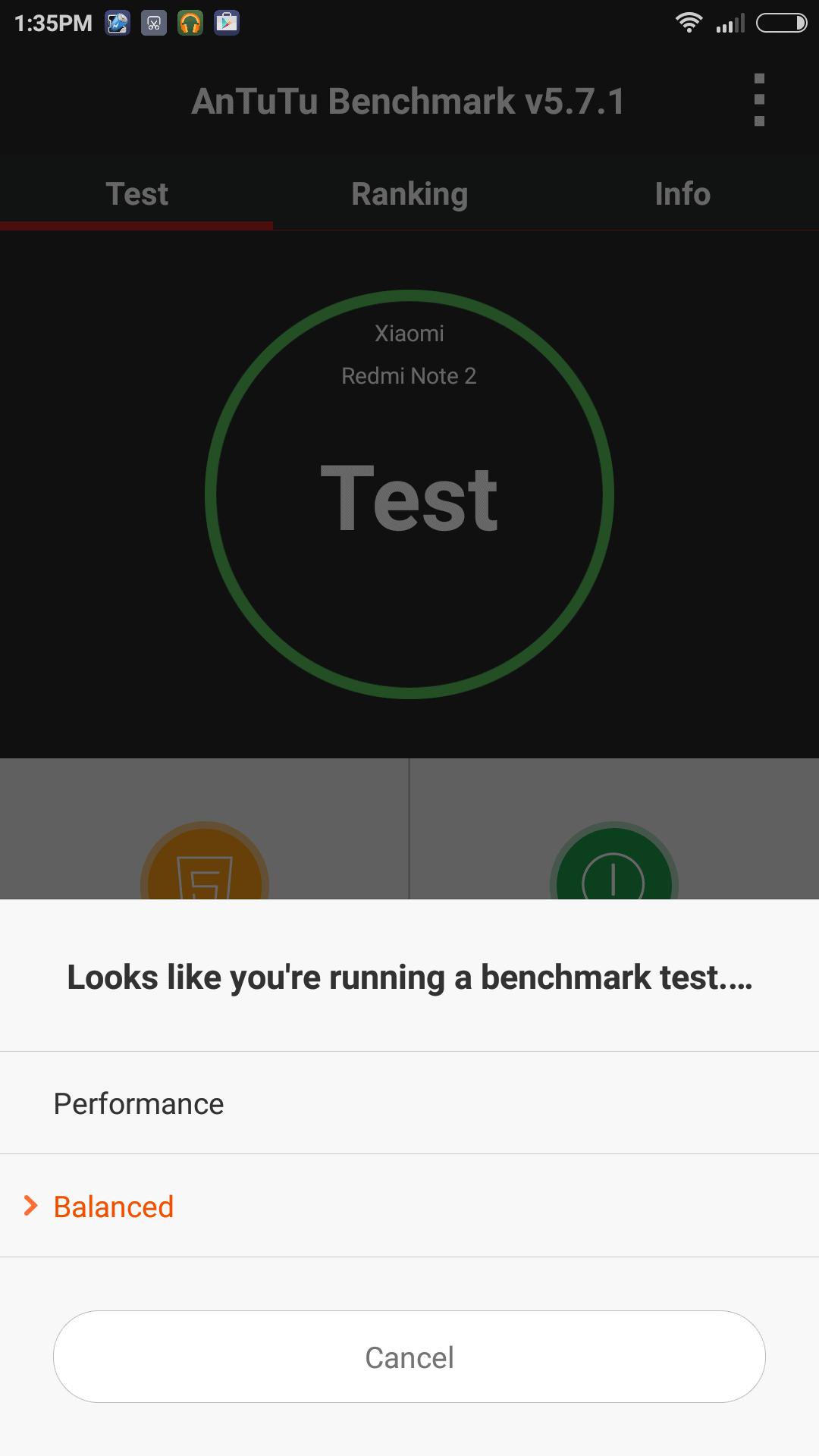 Xiaomi Redmi Note 2 AH benchmarks 10