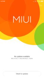 Xiaomi Redmi Note 2 AH miui update