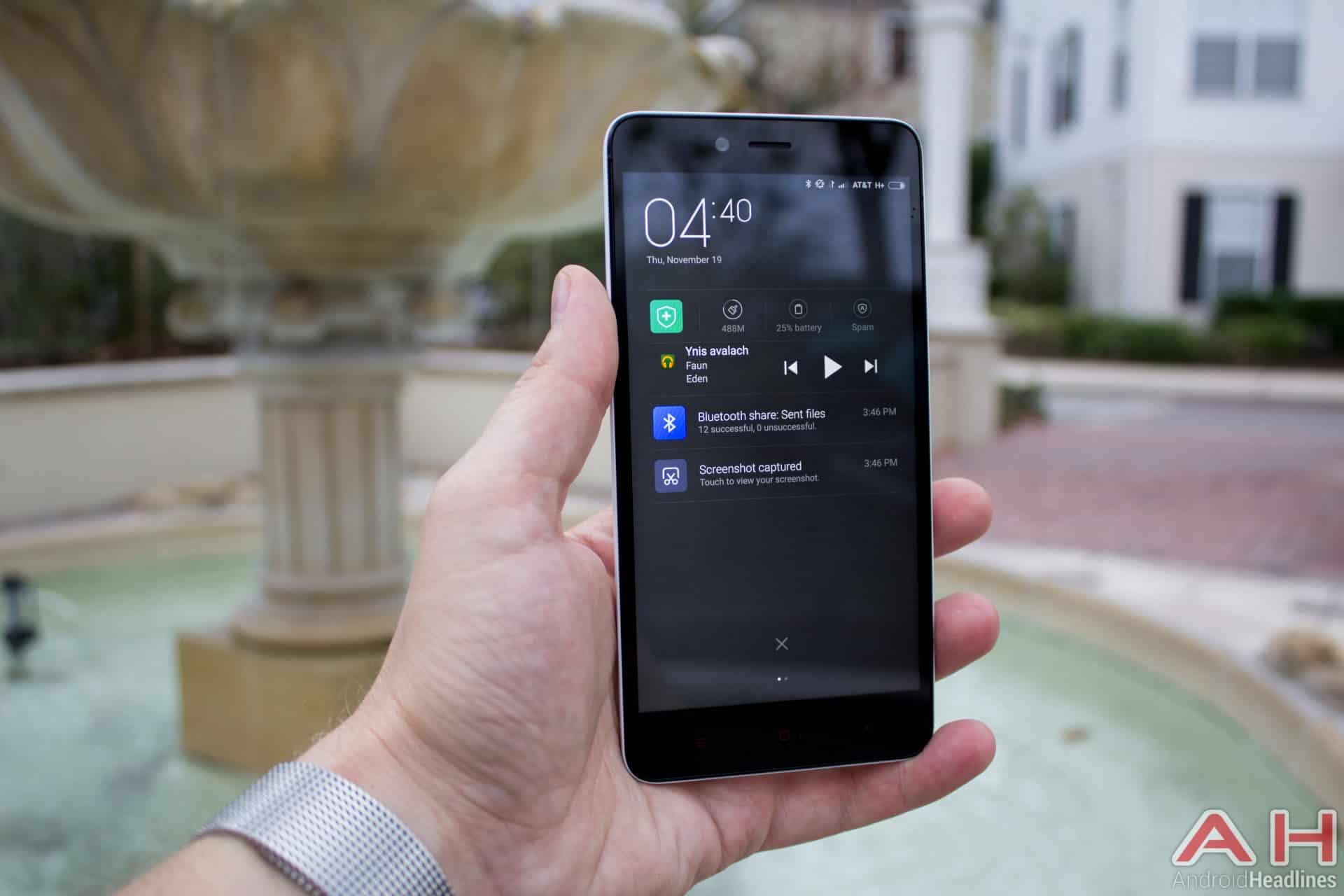 Xiaomi Redmi Note 2 AH notifications