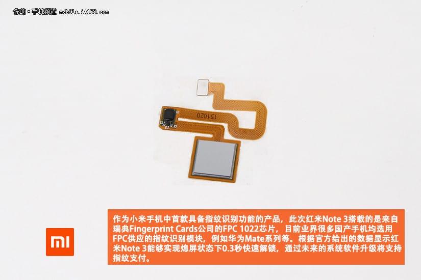 Xiaomi Redmi Note 3 Teardown 7