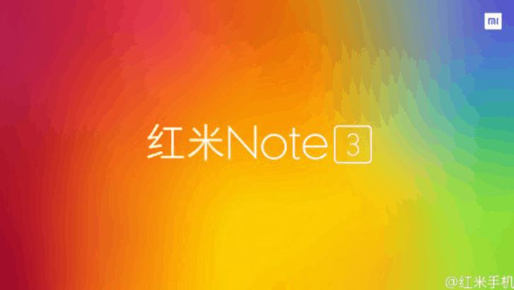 Xiaomi Redmi Note 3 teaser_1