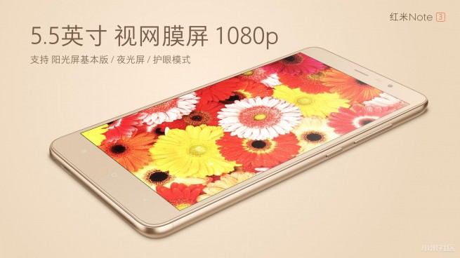 Xiaomi Redmi Note 3 12