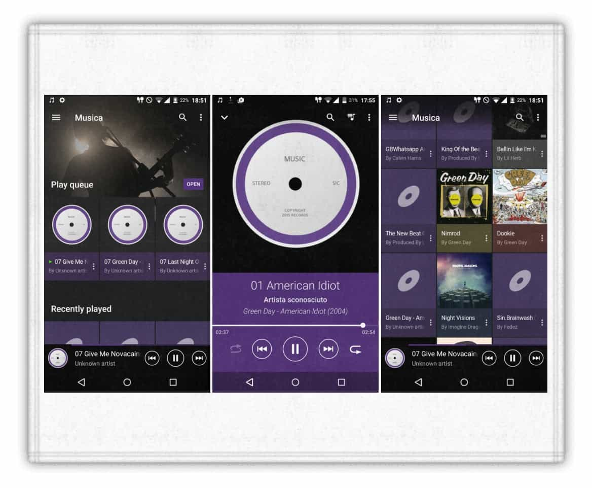 Xperia Z5 Premium Walkman UI KK