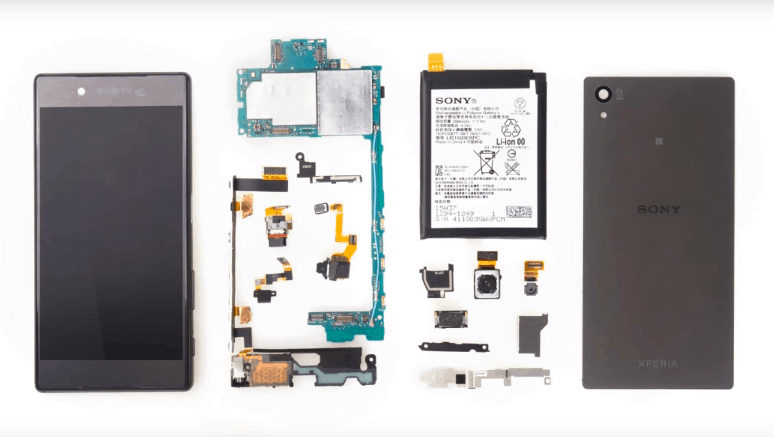 Xperia Z5 teardown_1