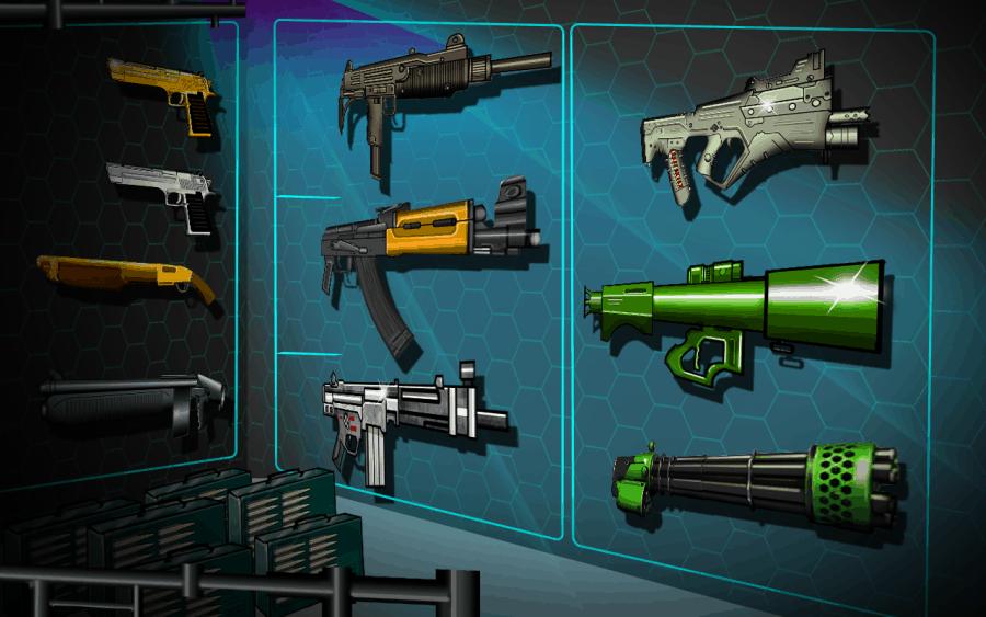 zombie mutiny weapons