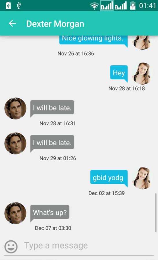 8. inside chat