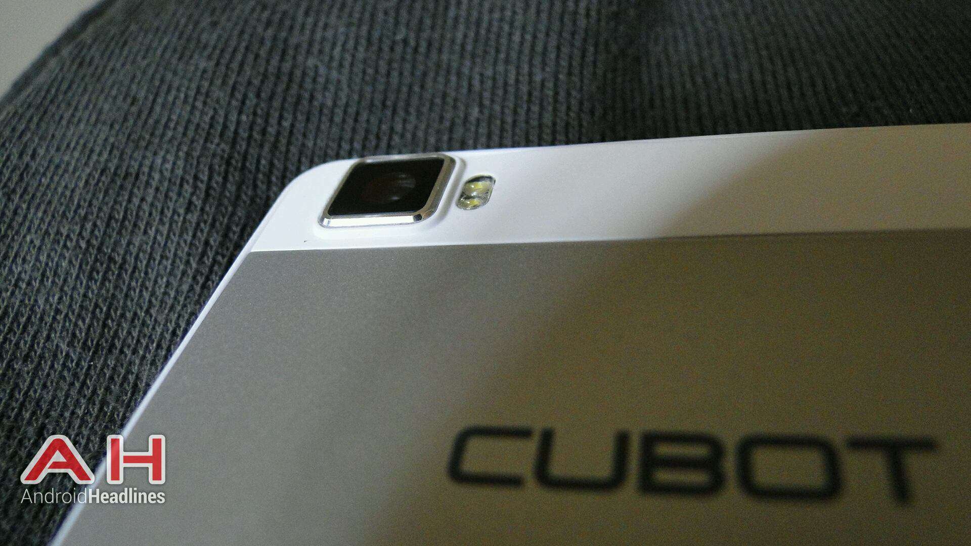 AH Cubot X17 4G rear camera logo