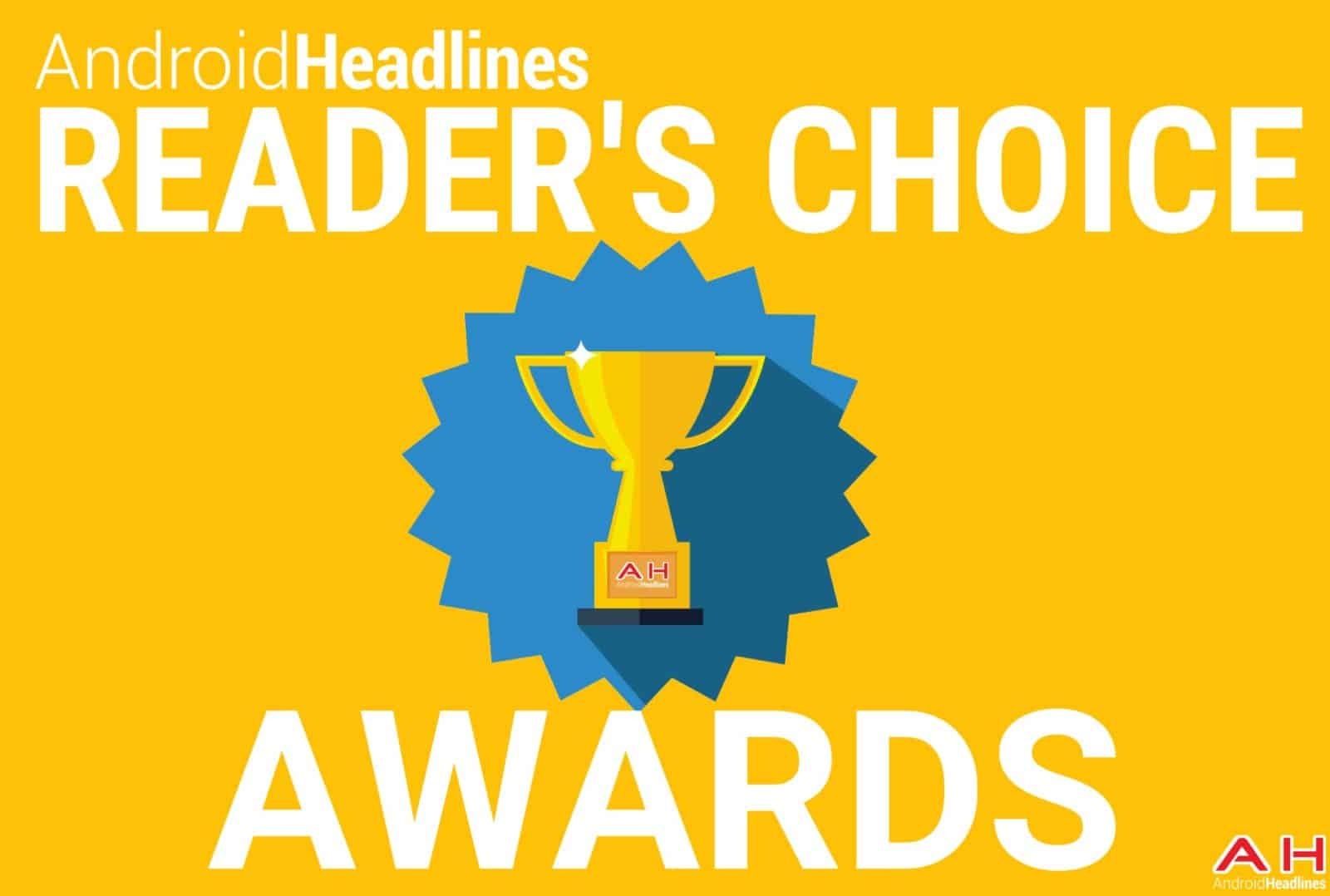 AH READER'S CHOICE AWARDS