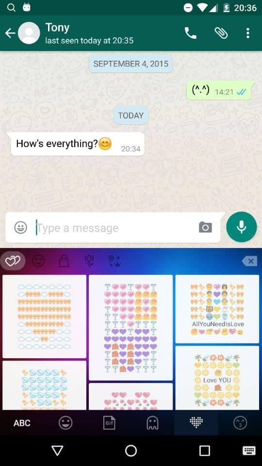 AH app review screen_predefined emojis-2