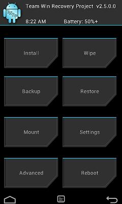 TWRP OnePlus X 3