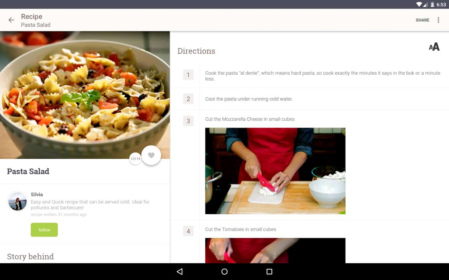 Featured top 10 cooking recipe apps for android allthecooks recipes forumfinder Images