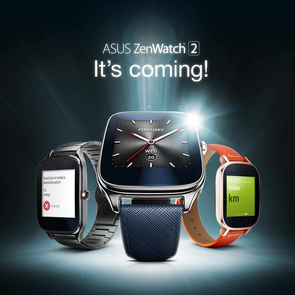 Asus ZenWatch 2 Coming To The UK