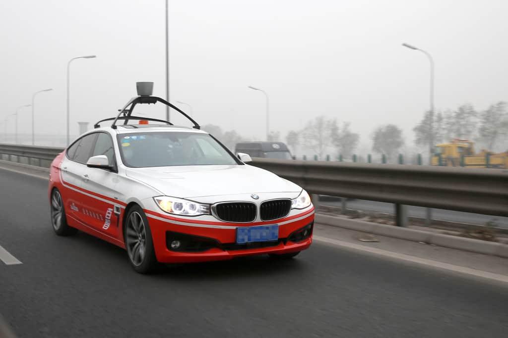 Baidu Car Road Test KK