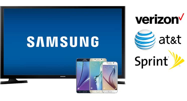 Best buy also offering free samsung tv with galaxy phone purchase