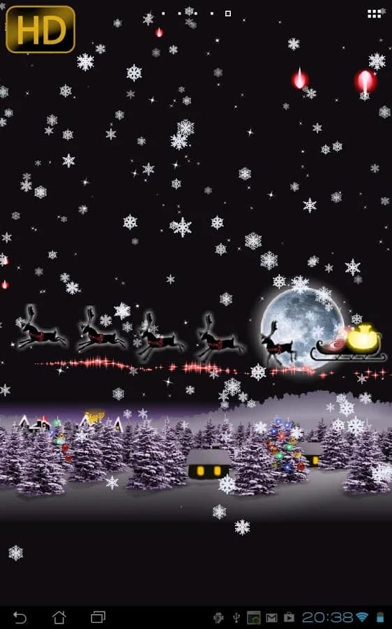 Christmas Live Wallpaper 02