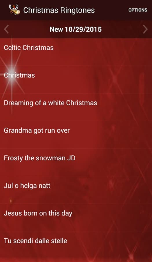 Christmas Ringtones 2015