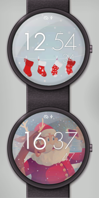 Christmas Watch Face 3