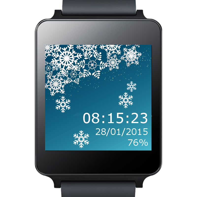 Christmas Watch Face 4