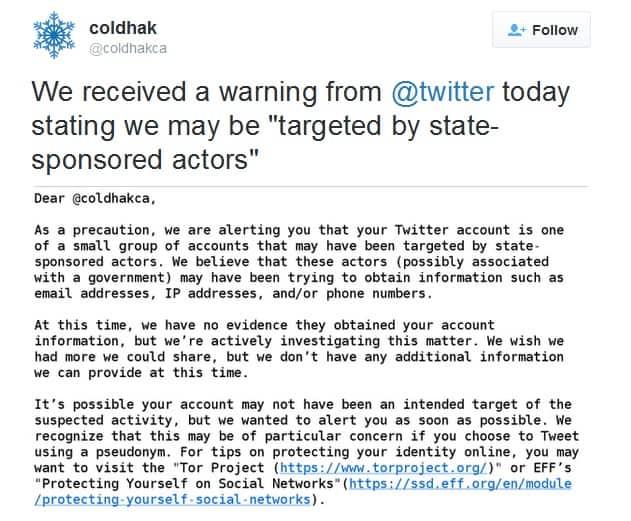 Coldhak Twitter Email KK