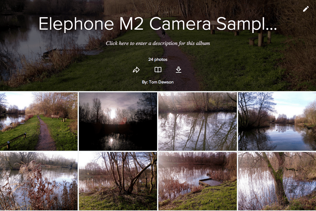 Elephone M2 Gallery