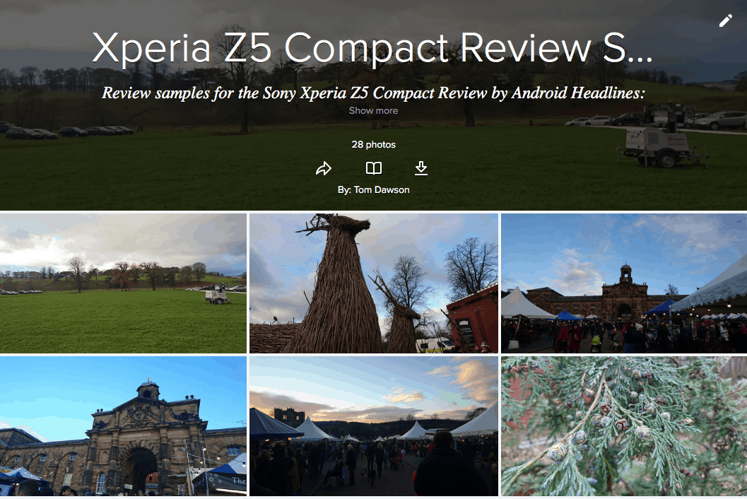 Flickr Z5 Compact Gallery